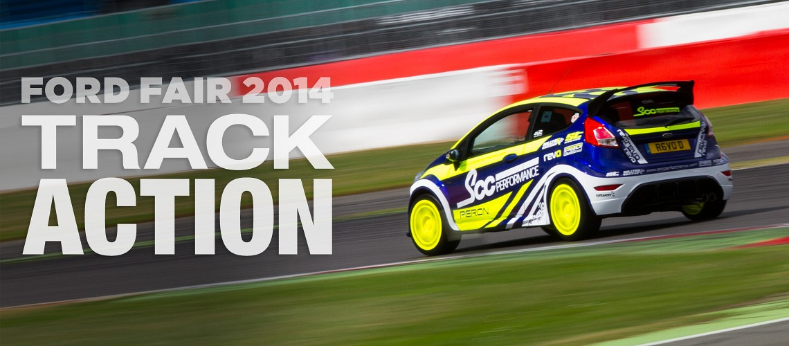Ford Fair 2014: Track Action