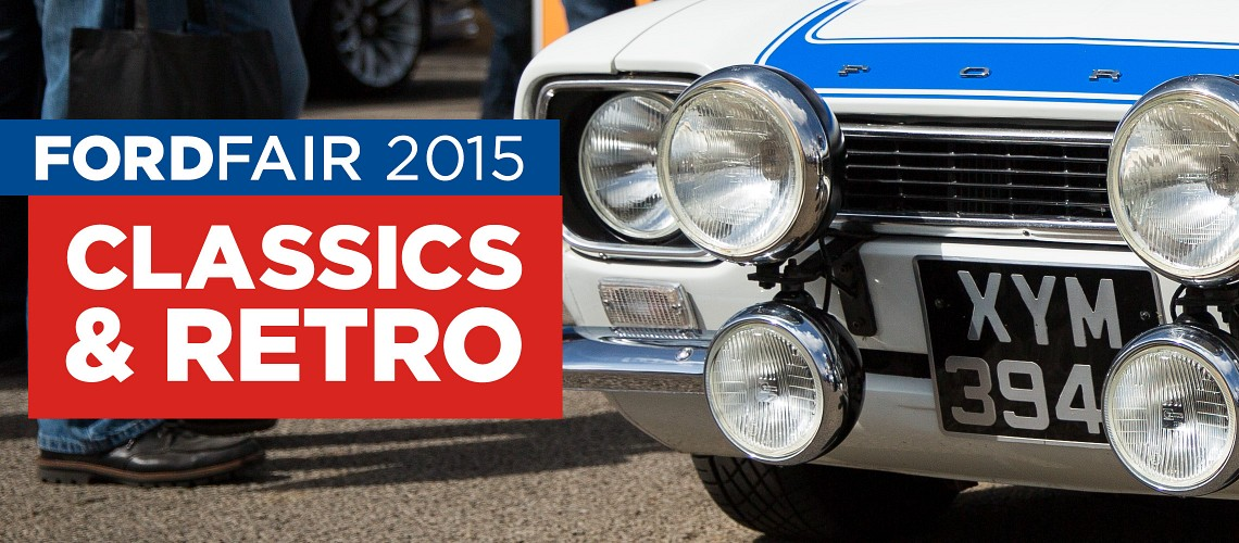 Ford Fair 2015: Classics & Retro