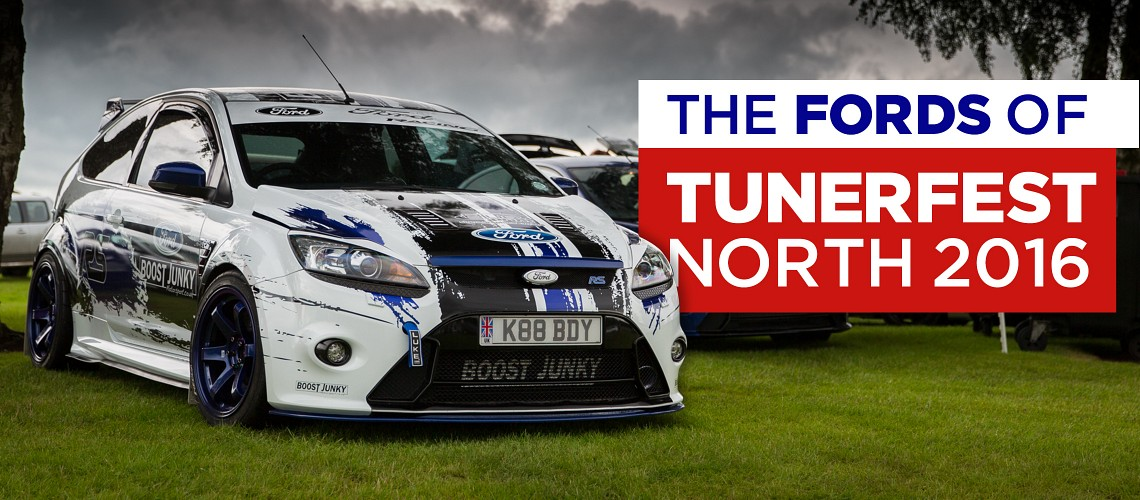 Tuner Fest North 2016: Fords
