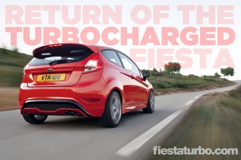 The 2013 Ford Fiesta ST