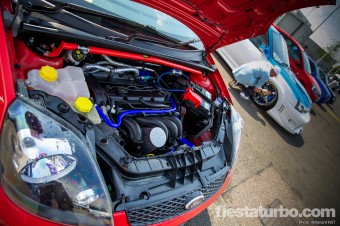 Concours Mk6 Engine Bay