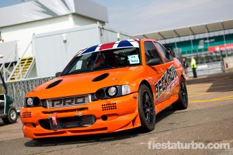 Orange WRC Kitted Escort Cosworth