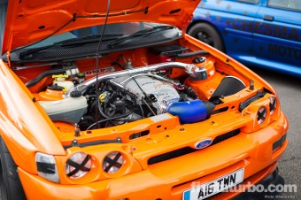 V8 Escort Cosworth - Engine