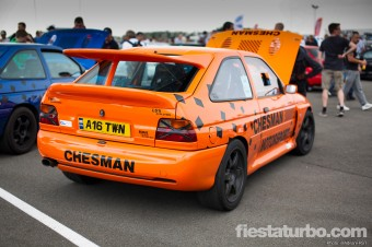 V8 Escort Cosworth - Rear