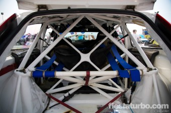 WRC Spec Focus Roll Cage